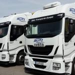 LKW-Beschriftung für Fa. Blitztransporte GmbH in Hemmingen