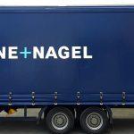 Planenbeschriftung bzw. Anhängerbeschriftung für Kühne+Nagel in Freiberg a.N.