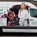 Transporterbeschriftung im Digitaldruck für Fa. car-X-pert in Waiblingen